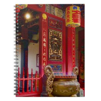 Cadernos Espirais Templo em Yilan, Formosa