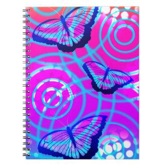 Cadernos Espiral A vibração da borboleta