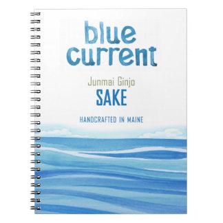 Cadernos Espiral Cervejaria atual azul - jornal