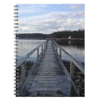 Cadernos Espiral Costa de Maine