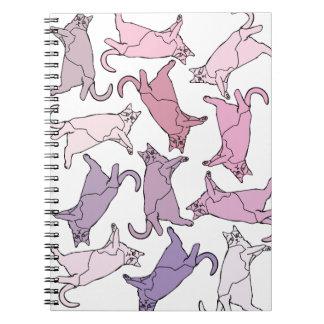 Cadernos Espiral Gatinhos em toda parte!