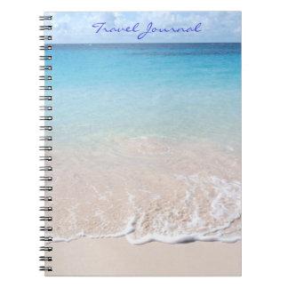 Cadernos Espiral Jornal do viagem (praia do cotovelo, cobrir de
