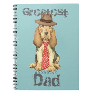 Cadernos Espiral Pai do Bloodhound