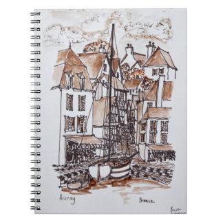 Cadernos Espiral Porto do Santo-Goustan, Auray | Brittany, France