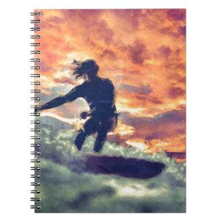 Cadernos Espiral Surfar
