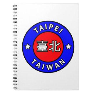 Cadernos Espiral Taipei Formosa