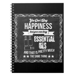 Cadernos Espiral Você não pode comprar a felicidade mas você pode