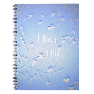 Cadernos Eu te amo.