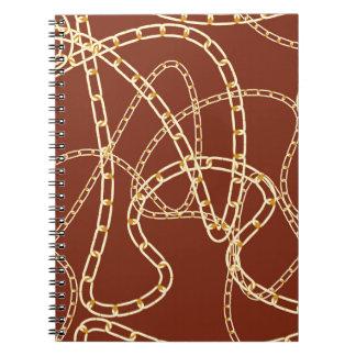 Cadernos Fundo 2 da corrente dourada