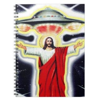 Cadernos Jesus e um UFO