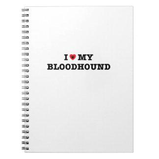 Cadernos Mim coração meu Bloodhound