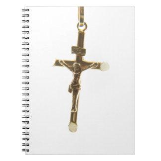 Cadernos Ouro transversal do Jesus Cristo horizontal