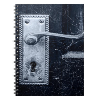 Cadernos Puxador da porta do vintage