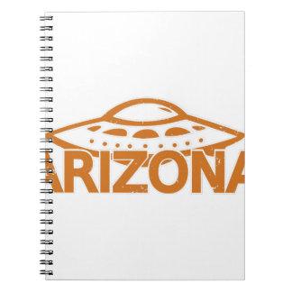 Cadernos UFO da arizona