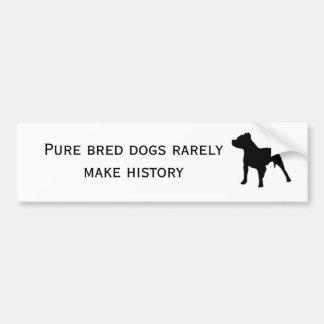 Cães do puro-sangue adesivo para carro