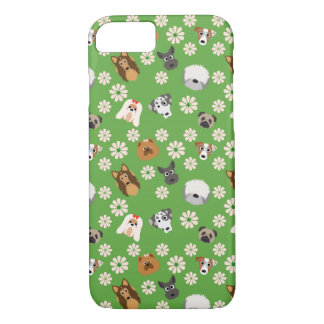 Cães & flores capa iPhone 7