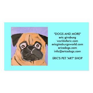 cães pelo ginsburg de eric modelos cartoes de visitas