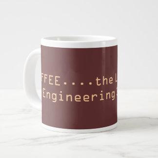 CAFÉ… a corda de salvamento de um estudante da eng Jumbo Mug