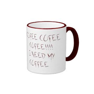 CAFÉ, CAFÉ, CAFÉ! CANECA COM CONTORNO