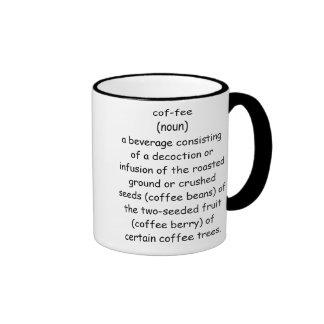 Café: Caneca Com Contorno