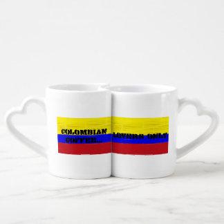 Café colombiano caneca para namorada