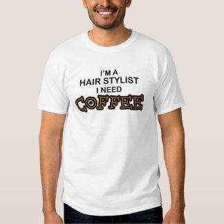 Café da necessidade - cabeleireiro tshirts