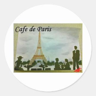 café de Paris Adesivo
