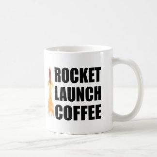 Café do lançamento de Rocket Canecas