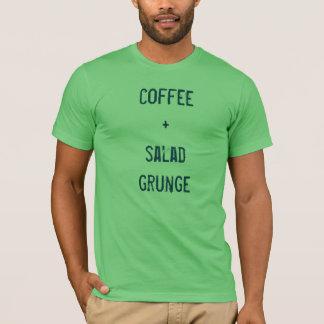 café + grunge da salada t-shirts