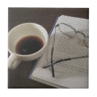 Café & livro - azulejo