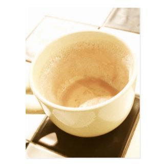 Café sonhado cartão postal