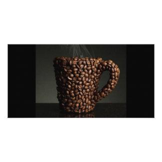 Café surpreendente photo-3 cartão com foto