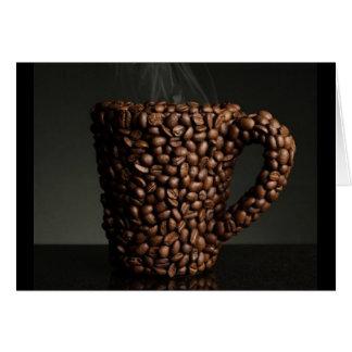 Café surpreendente photo-3 cartão comemorativo