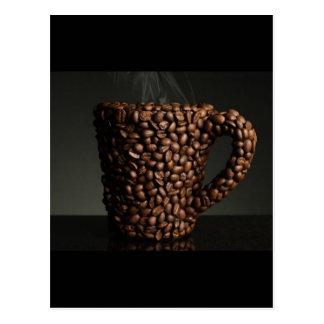 Café surpreendente photo-3 cartão postal