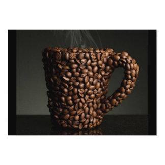 Café surpreendente photo-3 convite 12.7 x 17.78cm