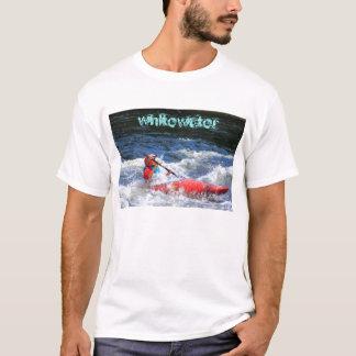 Caiaque de Whitewater Tshirts