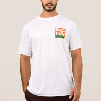 Caiaque do DIVERTIMENTO do KC/t-shirt seco dobro T-shirt