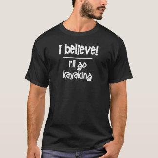 Caiaque engraçado t-shirt
