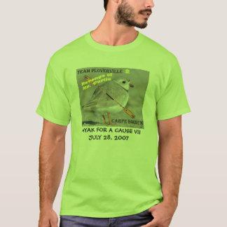 CAIAQUE PARA uma CAUSA - equipe Ploverville - KFAC Camisetas
