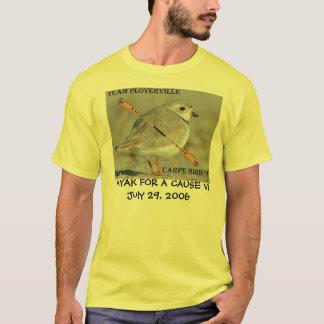 CAIAQUE PARA uma CAUSA - equipe Ploverville VI de Camiseta