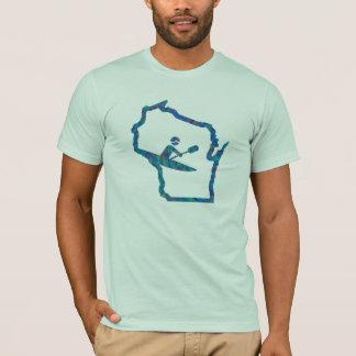 Caiaque Wisconsin - t-shirt Kayaking