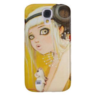 Caixa acima vestida da desordem para o iPhone Galaxy S4 Case