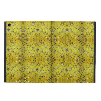 caixa amarela do ipad da cintilação