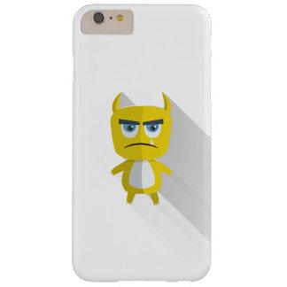 Caixa amarela do iPhone 6/6s do monstro Capas iPhone 6 Plus Barely There
