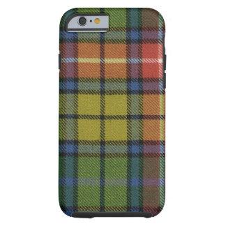caixa antiga do Tartan de Buchanan do caso do Capa Tough Para iPhone 6