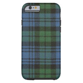 caixa antiga do Tartan de Campbell do caso do Capa Tough Para iPhone 6