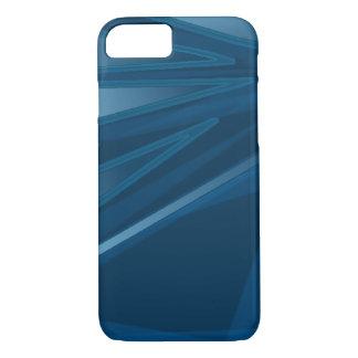 Caixa azul abstrata capa iPhone 7