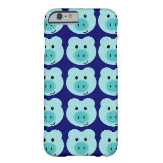 Caixa azul bonito do iPhone 6 do teste padrão do Capa iPhone 6 Barely There