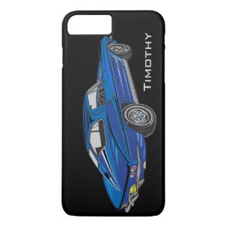Caixa azul clássica do iPhone 7 do design de Capa iPhone 7 Plus
