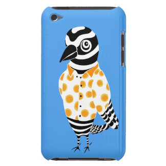 Caixa azul da case mate do ipod touch de Tweeto Capa Para iPod Touch